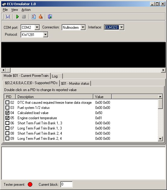 ECU Emulator